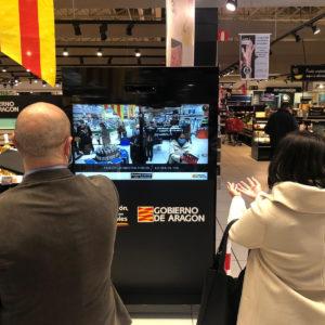 fun mirror de Aragón Alimentos Nobles en Carrefour Majadahonda